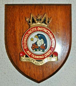 1121 (Swadlincote District) Squadron Air Training Corps plaque shield ATC RAF