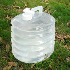 10L Collapsible Water Storage Container Bottle Carrier Can +Tap Outdoor Camping