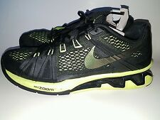 Nike MEN'S REAX LIGHTSPEED Gym Trainer Running Crossfit Sneakers Black Volt 8.5
