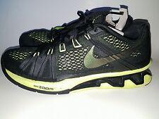 Nike MEN'S REAX LIGHTSPEED Gym Trainer Running Crossfit Sneakers Black Volt SZ 9