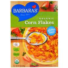 NEW BARBARA'S BAKERY ORGANIC CORNFLAKES CEREAL FOOD SNACK BREAKFAST DAILY HEALTH
