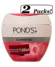 2x Pond's Clarant B3 Moisturizing Hypoallergenic Cream Normal To Dry Skin 7 Oz