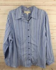 New Tommy Hilfiger Shirt Top Size 20 Blue Stripe