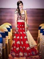 767bbae8b4 Pakistani Lehenga Bollywood Indian Lengha Choli Wedding wear traditional MA