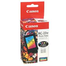 Canon BC-22e Photo Color BJ Cartridges 4-Colors BJC-2000  Qty 2 each per Pack