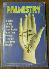 Palmistry Dell Purse Book 1968 fortune telling guide - Mir Bashir chiromancy