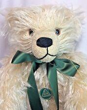 "Hermann LE 2000 Built In Time Capsule Millennium Bear 18"" Mohair Jointed Teddy"