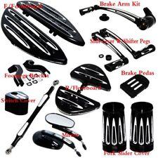 Floorboard Foot Board &Toe Heel Shift Lever Brake For Harley Touring Sport USA