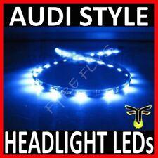 "BLUE 12"" LED SIDE SHINE HEAD LIGHT STRIP DRL HEADLIGHT STRIPS #B5"