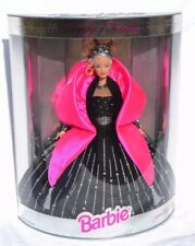Happy Holidays Barbie 1998 Special Edition #20200 blond in black gown NRFB