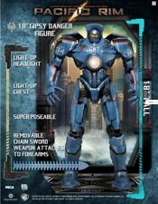 "Pacific Rim Gypsy Danger 2013 NECA 18"" Action Figure With LED Lites"