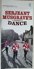 SERJEANT MUSGRAVE'S DANCE EDWARD PEEL MAXINE PEAKE BILLY CARTER TOBIAS MENZIES