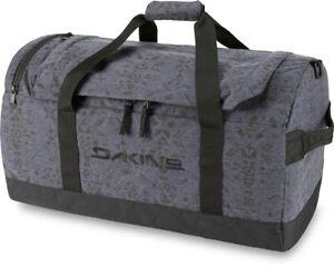 Dakine EQ Duffle 50L Sports Gym Travel Bag Night Sky Geo Blue New 2021