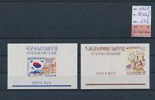 LM83727 Korea 1961 imperf mixed thematics sheets MNH cv 21 EUR