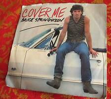 VTG GOOD BRUCE SPRINGSTEEN  Cover Me  Single 45 RPM with PicSleeve 1984