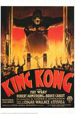 King Kong (1933) Edición Limitada Película Póster Reproducción-S-Sided-Rodado