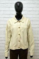 Giacca Donna INVICTA Taglia Size L Cappotto Trench Jacket Woman Italy Cotone