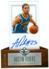 AUSTIN RIVERS ~ 2012-13 Limited Basketball Rookie Card RC #167 AUTO (#14/199)