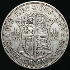 More details for 1930   george v half-crown 'key date'   silver   coins   km coins