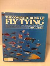The Complete Book of Fly Tying, Eric Leiser, HC DJ NICE