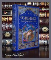 Grimm's Fairy Tales Illustrated New Sealed Leather Bound Deluxe Collectible Ed