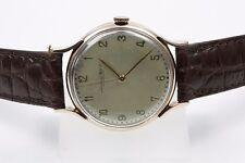 Runde nicht wasserbeständige Armbanduhren mit Massivgold-Armband