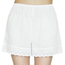 Womens Ladies Cotton Soft Plain Shorts Boxer Briefs Underdresses Knickers Shorts