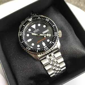 SKX007K2 Automatic Diver Day & Date Silver Steel Strap Watch COD PayPal