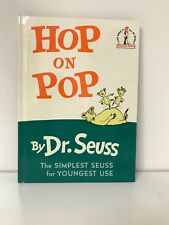 Hop on Pop by Dr. Seuss (1963, Hardcover) B-29 Beginner books Collectors