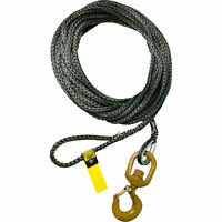 OZ Lifting Products 12-Str& Synthetic Rope Assembly- 3/8in. x 45ft, Model#