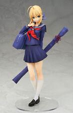 Anime Alter Fate/Stay Night Saber master Arturia School Uniform 1/8 PVC Figure