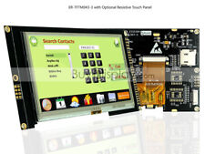 "4.3"" inch TFT LCD Module Display,I2C,Serial SPI w/Resistive Touch Panel,Tutorial"
