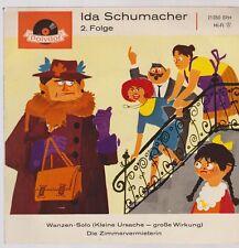 """7"""" Ida Schumacher 2. Folge Wanzen-Solo / Die Zimmervermieterin 60`s Polydor"""