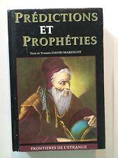 PREDICTIONS PROPHETIES 1994 DAVID MARESCOT FRONTIERES ETRANGE