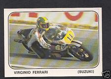 Panini Sticker -  Moto Sport 1979 Sticker No 125 - Virginio Ferrari - Suzuki