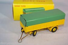 DINKY TOYS 70 REMORQUE BACHEE COVERED TRAILER VN MINT BOXED RARE SELTEN!