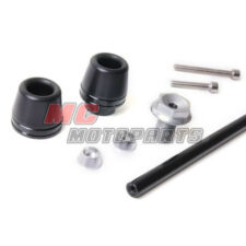 Black Front Fork Axle Sliders Protector For Yamaha YZF R1 04 05 06 2008 12 13 14