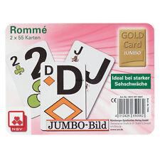2 Club Romme Canasta Bridge Kartenspiele Jumbo Bild, Spielkarten von Frobis