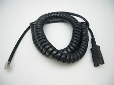 Plantronics U10 Qd cable for Cisco 7931 7965 7971 7975 8941 8941 8945 8961 9951