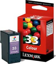 ORIGINAL LEXMARK 33 TINTE PATRONEN 18CX033 für X5250 X5470 X7170 X7350 X8350