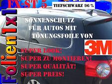 20,37€/qm 480 cm x 51cm 3M FX-ST5 Top Auto Tönungsfolie tiefschwarz 4% +Werkzeug