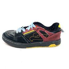 Tony Hawk Thloco Boys Skate Shoes Black Red Size 4