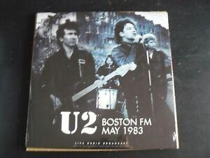 U2 BOSTON FM 1983 LIVE RADIO BROADCAST LP