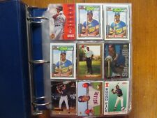 Lot  of   500  MANNY RAMIREZ  Baseball  Cards (1992-2009/Notebook/clear  sheets)