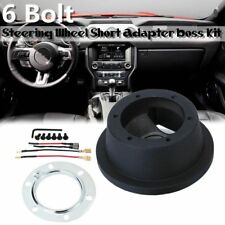 6 Bolt Steering Wheel Hub Adapter Boss Kit 127167B For Ford Mustang MAZDA VOLVO
