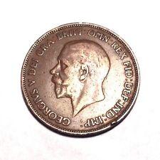 1928 Georgivs V Dei Gra Britt Omn Rex Fid Def Ind Imp: One Penny Coin