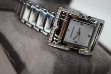 BCBG MAX AZRIA Ladies Stainless Steel MOP Bracelet Watch BG8204