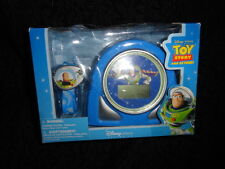 Disney Pixar Toy Story & Beyond Buzz Lightyear Cosmic Alarm Clock & Watch Set