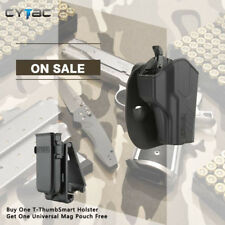 CYTAC Level II Thumb Release Holster fits BERETTA 92 with FREE single mag pouch