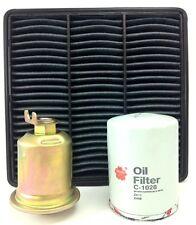 MITSUBISHI MIRAGE & LANCER 1.5L, 1.8L AIR OIL FUEL FILTER KIT Z411, A1311, Z515